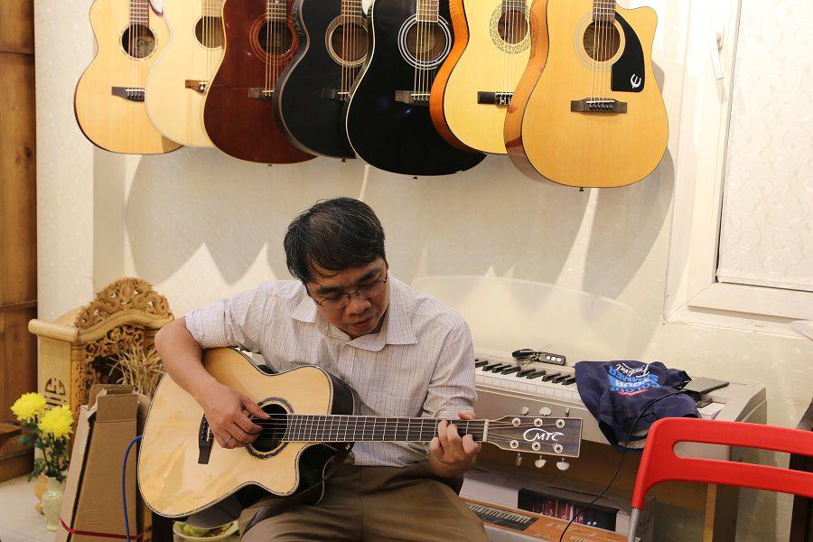 Lớp học guitar tại Hai Bà Trưng, Đống Đa Hà Nội
